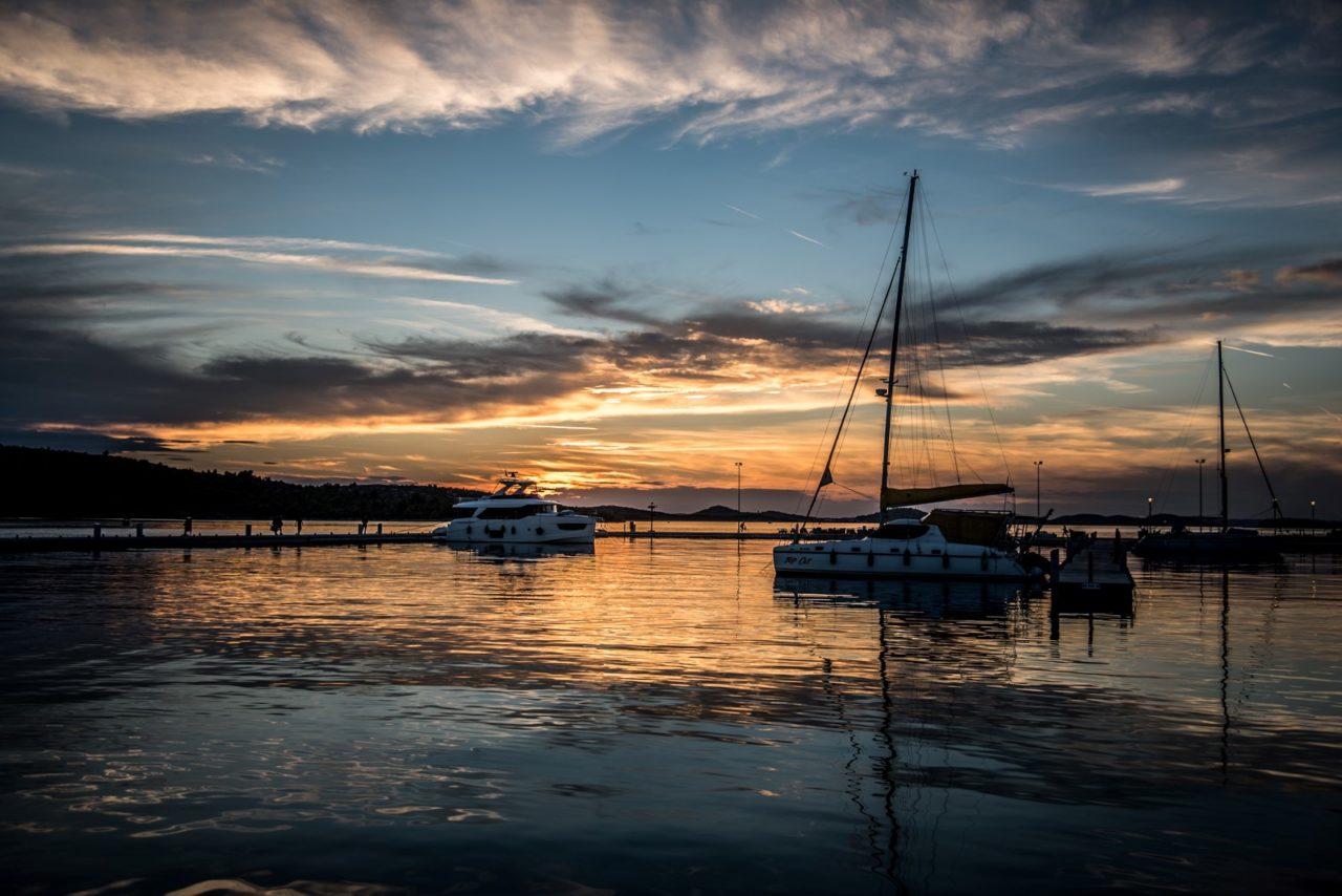 Chorwacja - zachód słońca