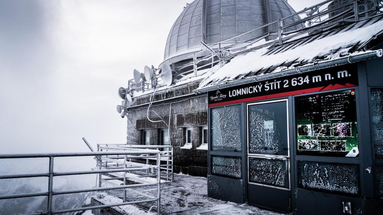 Łomnicki szczyt - taras widokowy
