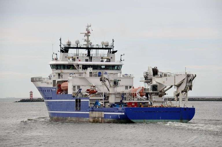Offshore Support Vessel, IMO: 9382815, MMSI: 257058640