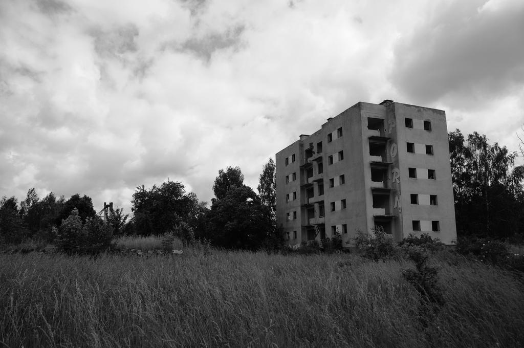Kłomino - wymarłe miasto