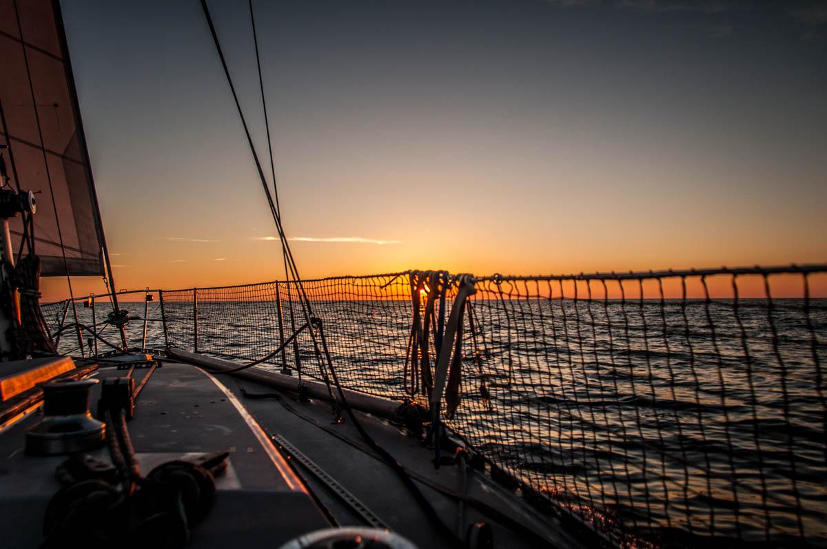 Wypływamy z Gdańska na Morze Bałtyckie