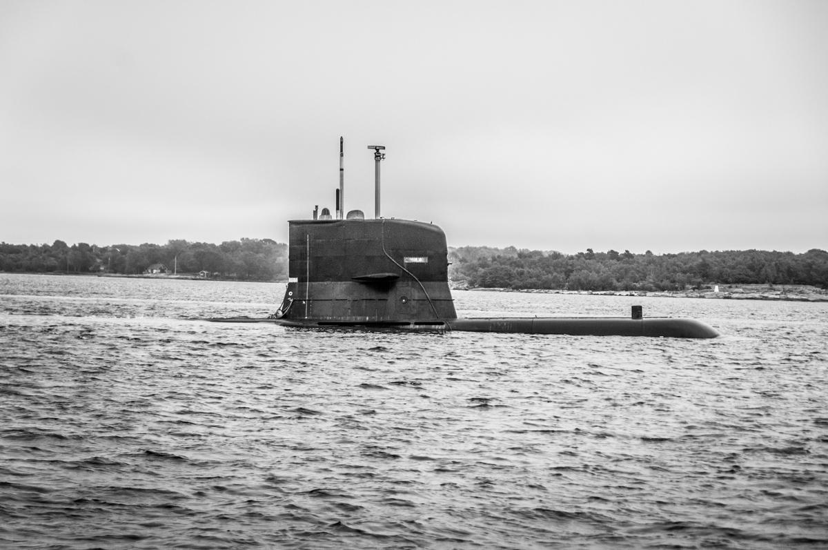 Łódź podwodna w Karlskrone