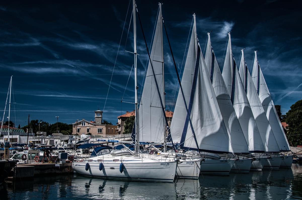 Wypływamy z Zadaru na Morze Adriatyckie