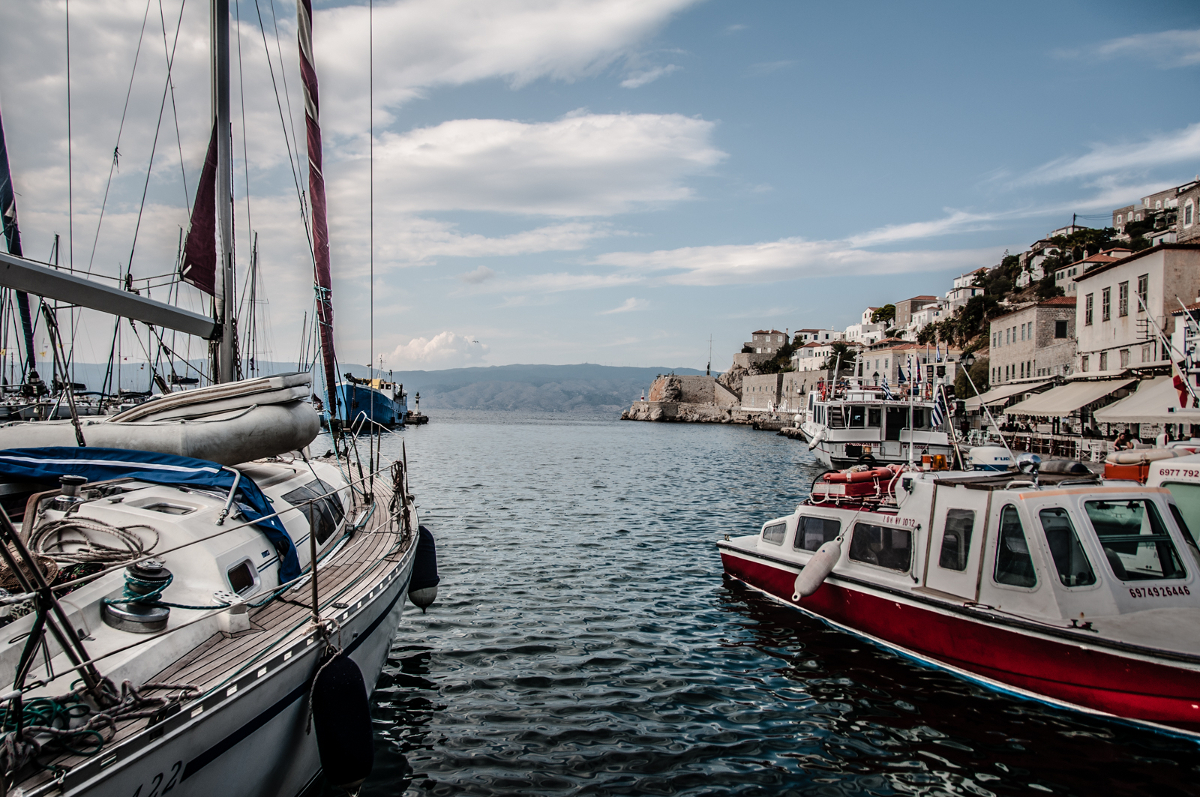 Wypływamy z Aten na Morze Egejskie