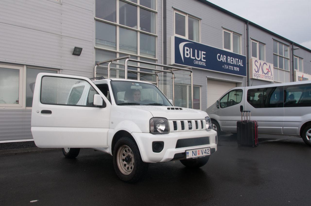Wynajem samochodu na Islandii