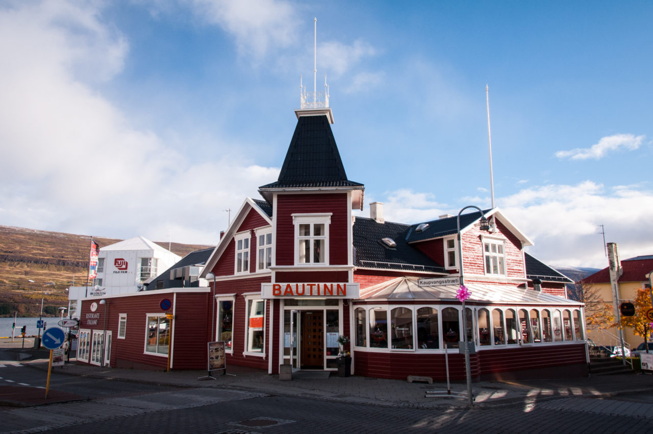 Bautinn, Akureyri - restauracja