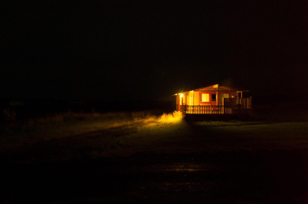 Domek na Islandii